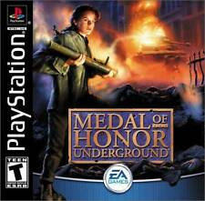 Medal Of Honor Underground - PS1 PS2 Playstation Game