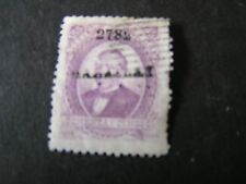 *MEXICO, SCOTT # 129, 85c. VALUE 1879 BENITO JUAREZ OVPT DISTRICT #  DATE USED