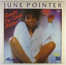 "12"" Maxi - June Pointer - Ready For Some Action - C1414 - RAR - washed & cleaned"