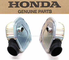New Genuine Honda Air Filter Cleaner Set 1974-1976 CB360 CL360 (See Notes)#B72