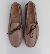 Mercanti Fiorentini Mocka Leather Loafers Men's Shoes  Size-11M-Brazil-New