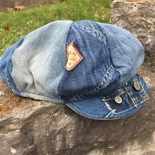VTG Denim Hippie Work Wear Engineer Hat Levi's Penny Pay Day Jeans Kapital BIG E
