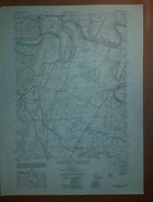 1940's Army Topo map Hedgesville West Virginia 5463 III SW