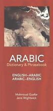 New Dictionary and Phrasebooks: Arabic-English, English-Arabic Dictionary and...
