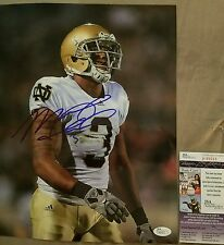 Michael Floyd Notre Dame Signed 11x14 in person. JSA CERTIFIED