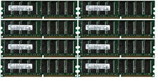 8x 1GB 8GB Samsung DDR 400Mhz PC-3200 Apple PowerMac G5
