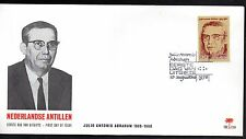 Dutch Antilles - 1976 Julio Antonio Abraham Mi. 313 clean unaddressed FDC