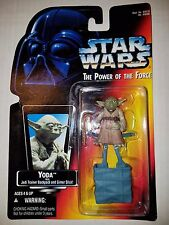 STAR WARS POTF: YODA with BACKPACK on RED CARD