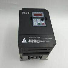 2HP 1.5KW VFD Inverter 1 Phase 220V 7A Variable Frequency Driver 0-1000Hz CNC