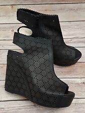 Ladies Slingback Wedge Ankle Boots Size 6.5 BNIB