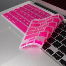 "HOT PINK Keyboard Cover Skin for Macbook Air 13"" A1369"