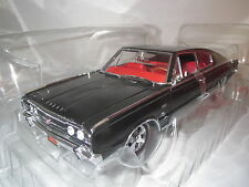 """Ertl/American Muscle  Dodge Charger  """"1966""""  (schwarz/rot) 1:18 OVP !!!"""