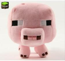 Minecraft Animal Plush Toys Stuffed Soft*CLEARANCE SALE*CHEAPEST Pink Pig