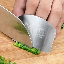Kitchen Tool Stainless Steel Finger Hand Protector Guard Knife Slice Chop Shield