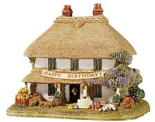 Lilliput Lane Birthday Greetings Dorset British Collection Ornament 7cm L3549