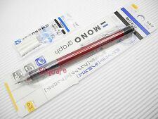 Tombow Mono Graph 0.3mm Mechanical Pencil w/ Eraser Pen + 3 Eraser Refills, R