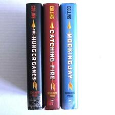 The Hunger Games Trilogy Lot of 3 Hardcover Books Suzanne Collins Matched Set
