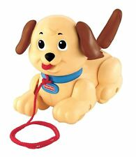 Fisher-Price Lil Snoopy Pull Along Dog - Preschool Childrens Toy