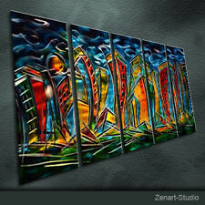 Original Metal Wall Art Abstract Special Painting Indoor Outdoor Decor-Zenart