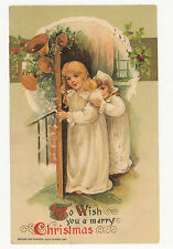 (P023) Postcard - Old-time Christmas #2 (modern card)