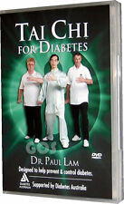 Tai Chi For Diabetes Dr Paul Lam Exercise Fitness Health DVD NEW UNSEALED