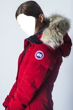 """2017 """"LATEST CONEPT"""" RED LABEL CANADA GOOSE RED SHELBURNE XS ARCTIC PARKA JACKET"""