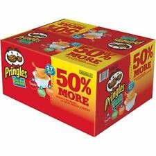 New Pringles Potato Chips Snack Food Variety Pack 27 count 19.19 oz