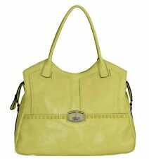 GUESS WILCOX CARRYALL BAG LEMON, Genuine Leather, VG393422 (S1A)