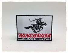 Winchester Sew Iron On Patch Embroidered Rifles Badge Gun Hunters Weapons Pistol