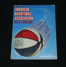 1970-71 TSN ABA Basketball Guide-EX