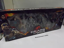 4 ACTION FIGURES - GEARS OF WAR - NECA - NEW RARE - BAIRD MARCUS DOMINIC THERON