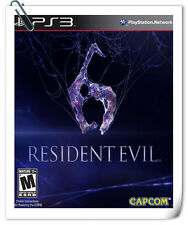 PS3 RESIDENT EVIL 6 SONY PlayStation Action Adventure Games Capcom