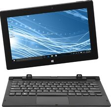 "Insignia™ - Flex - 11.6"" - Tablet - 32GB - With Keyboard - Black  NS-P11W6100"