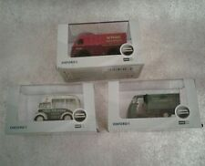 & Oxford Diecast 1:76 Scale Commercial Vehicles x 3