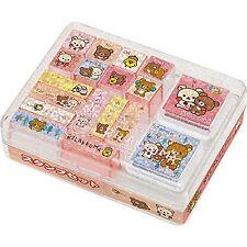 New San-X Rilakkuma Stamp Set Korilakkuma Stamps A Stationary Christmas Gift