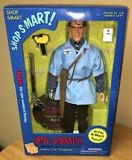 "S-Mart Ash RARE Sideshow EXCLUSIVE 12"" Figure MIB Army of Darkness Vs. Evil Dead"