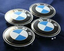 BMW WHEEL CENTRE CAPS 68MM STANDARD SIZE FIT ALL MODELS BEST VALUE TOP SELLER