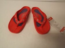 Tony Little Cheeks Healthy Lifestyle Sandal-Jewel Thong-Red-Size 9-NWT