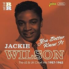 You Better Know It:u.S & U.K Chart Hits 1957-62 - Jackie Wilson (2015, CD NIEUW)