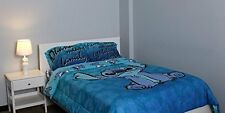 NEW! Disney Lilo & Stitch Full/Queen Size Comforter Bedding RARE - HTF! Throw