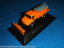 Mercedes Benz Zetros Winterdienst 4x4 Kommunal Orange 1:87 Neu