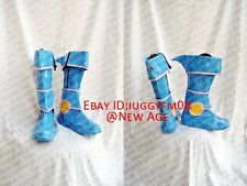 Yu-Gi-Oh! Dark Magician Girl Cosplay Shoes Boots #C134