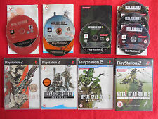 METAL GEAR SOLID 3 Subsistence + more- PlayStation 2 PS2~Complete~PAL~ BUNDLE