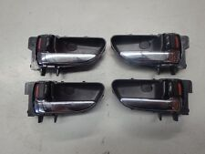 Subaru Forester SG9 STi 2004 Chrome Interior Door Handle Set