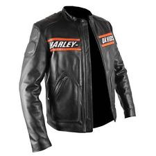 New Men's Harley Davidson Screamin Eagle Leather Jacket