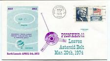 1974 Pioneer-11 Leaves Asteroid Belt Jupiter Sun Earth Canaveral NASA AMES USA