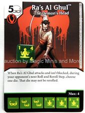 Green Arrow Flash RA'S AL GHUL The Demon's Head #70 DC Dice Masters card
