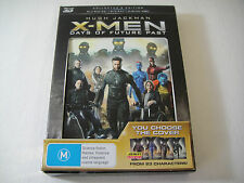X-Men: Days Of Future Past 3D - Collector's Interchangeable Cover Blu-Ray | Rare