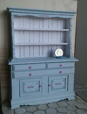 1:12 dollhouse miniatures china cabinet display - by artisan