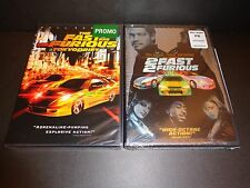 THE FAST AND THE FURIOUS TOKYO DRIFT & 2 FAST 2 FURIOUS-2 action packed movies